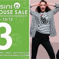 Bossini: Warehouse Sale with Deals as low as $3