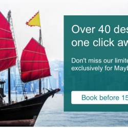 Cathay Pacific: 40+ destinations on sale from SGD248 for Maybank Cards