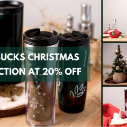 Starbucks: Christmas Collection 2015 at 20% OFF
