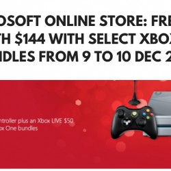 Microsoft Online Store: Get Freebies worth $144 with Purchase of Xbox One Base Bundle