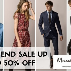 Massimo Dutti: Year End Sale up to 50% OFF