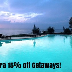 Groupon: Up to Extra 15% OFF on Getaways!