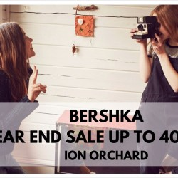 Bershka: Year End Sale up to 40% OFF