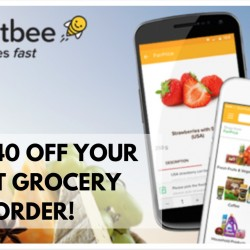 HonestBee: $40 OFF Your First Grocery Order