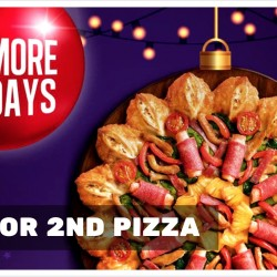 Pizza Hut: $4 for 2nd Pizza
