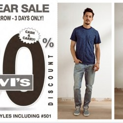 Levi's: New Year Sale Up to 80% OFF