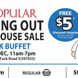 Popular: Moving Out Warehouse Sale Book Buffet