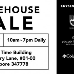 Crystal Time: Warehouse Sale up to 70% OFF Selected Timepieces
