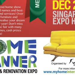 Singapore Expo: Home Planner Furniture & Renovation Expo