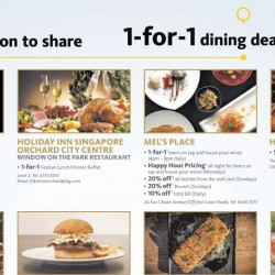 Maybank: 1-for-1 Dining Deals and more