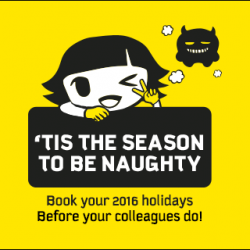 FlyScoot: 2016 Fares Starting from $3 + Additional 10% OFF