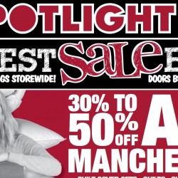 Spotlight: Biggest Sale Ever on Bedlinen, Fabrics, Curtains & more!