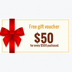 Dragon Brand: Win $50 Gift Voucher @Dragon Brand's Products.