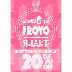 Sogurt: 20% OFF Froyo Shake