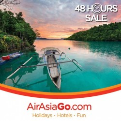 AirAsiaGo: 48 Hours Sale Hotel Deals up to 60% around Asia and more