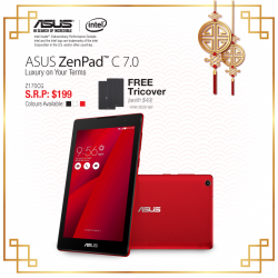 Asus: Free TriCover worth $49 with every purchase of the ASUS ZenPAd C7.0
