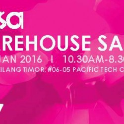 Sasa: Warehouse Sale Up to 90% OFF