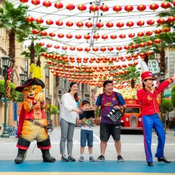 Universal Studios Singapore: Online Exclusive Promo 2 Adult and 1 Child One-Day Pass at only $178