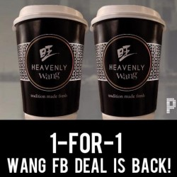 Wang Cafe: 1-for-1 Kopi & Teh