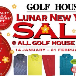 Golf House: Lunar New Year Sale Up to 70% OFF