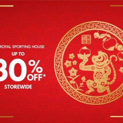 Royal Sporting House: Up to 30% OFF + $18 Voucher with $108 nett spend