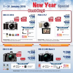 Olympus Imaging: Best Buy Camera_New Year Special