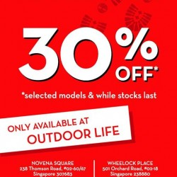 OUTDOOR LIFE : Timberland footwear 30% OFF