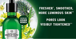 The body shop: Get FREE Drops Of Youth