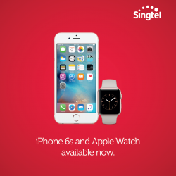 Singtel: iPhone 6s and Apple Watch