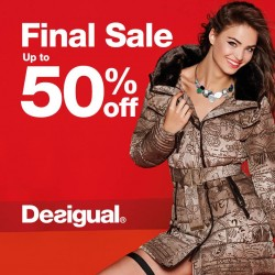 Desigual: Final Sale Up to 50% OFF