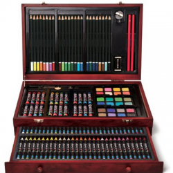 Amazon: Art 101 142-Piece Wood Art Set