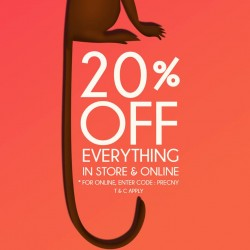 Gripz: 20% OFF Everything in Store and Online