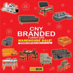 Big Box: CNY Branded Furniture Warehouse Sale