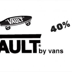 Limited Edt: 40% OFF Vans Vault Collection