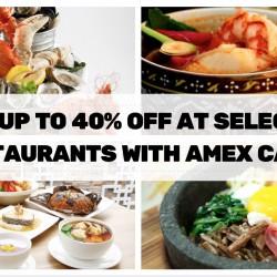 American Express: Up to 40% OFF at Selected Creative Eateries Outlets