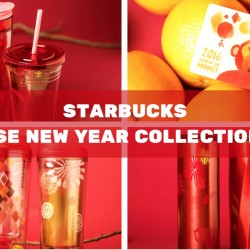Starbucks: Chinese New Year Collection 2016