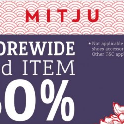 Mitju: Storewide 50% off 2nd item