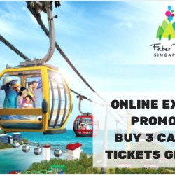 Singapore Cable Car: Buy 3 Tickets Get 1 FREE Online