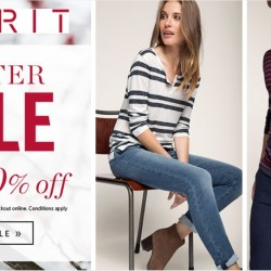 Esprit: Winter Sale Up to 70% OFF + Extra 20% OFF Storewide