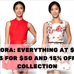 Zalora: Everything at $20, Buy 3 for $50 and 15% OFF CNY Collection