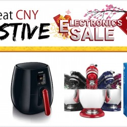 Rakuten: Great CNY Festive Electronics Sale Up to 75% OFF