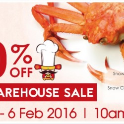 iChef: CNY Warehouse Sale Up to 70% OFF
