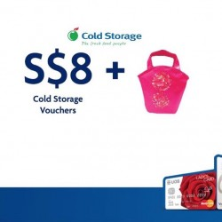UOB: $8 Cold Storage Voucher + 2% SMART$ Rebate at Cold Storage
