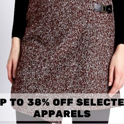 Marks & Spencer: Up to 38% OFF Selected Apparels