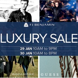 FJ Benjamin: Luxury Sale Up to 80% OFF