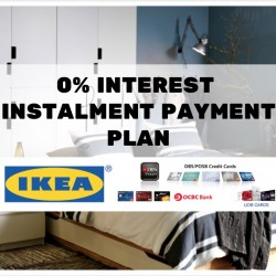 IKEA: New 0% interest Instalment Payment Plan