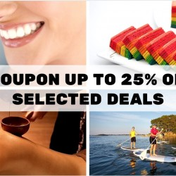 Groupon: Up to 25% OFF Beauty, Dining, Leisure & Services Deals