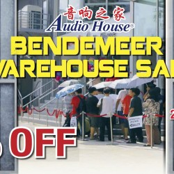 Audio House: Bendemeer Warehouse Sale up to 80% OFF