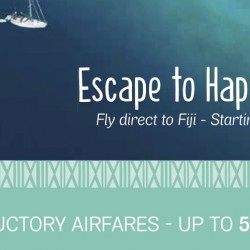 Fiji Airways: Up to 50% OFF Introductory Airfares