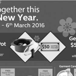 Philips: Free Happycall Pot + $50 Shopping Vouchers